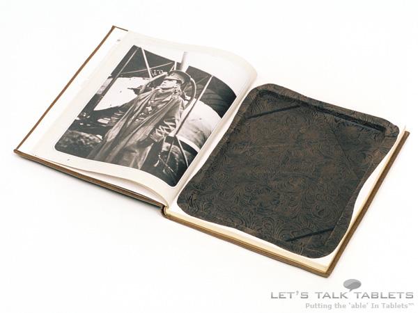 iPad 2 ReAuthored notebook case opened