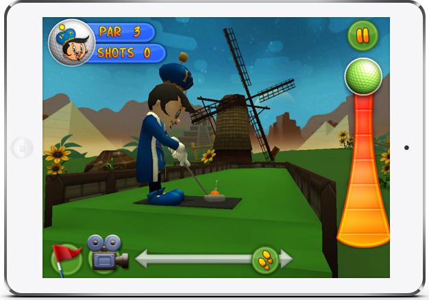 Putter King Adventure Golf Game screenshot