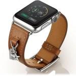 Elobeth Genuine Leather Apple Watch Band