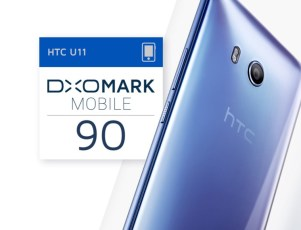 HTC U11 scores highest camera rating DxOMark