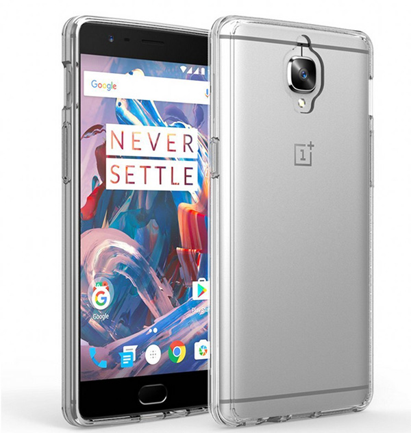 crystal clear OnePlus 5 case