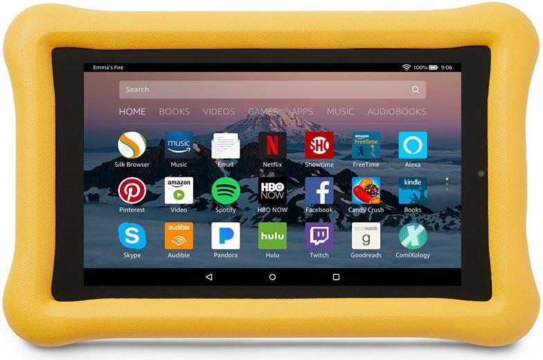Kid Proof case for 7th gen Amazon Fire HD 8 tablet