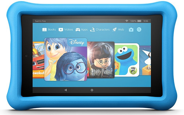 7th gen Amazon Fire HD 8 tablet Kids Edition