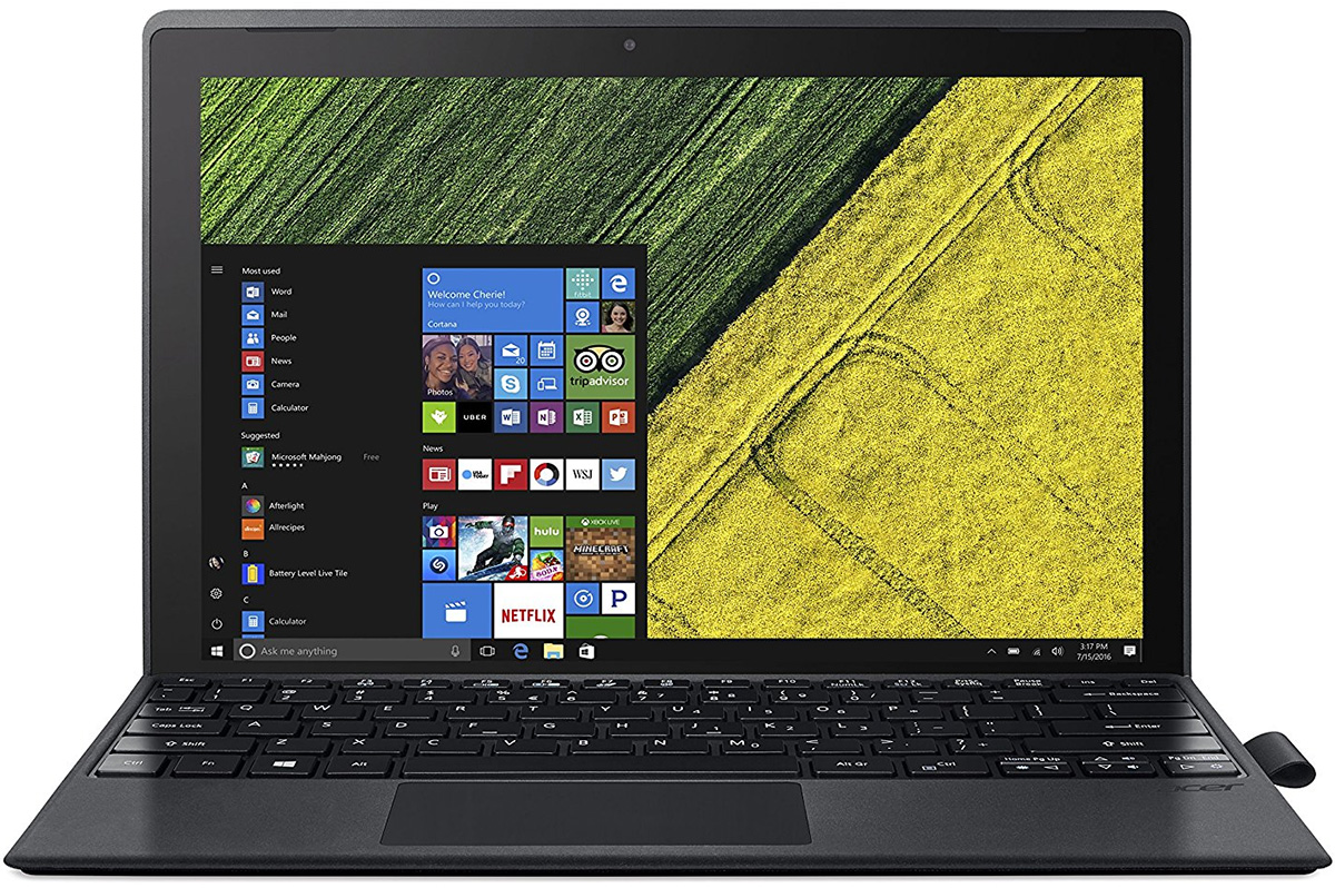 Acer Switch 3 2-in-1 laptop tablet