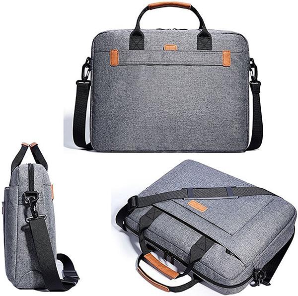 KALIDI 17.3 Inch Notebook Briefcase Messenger Bag