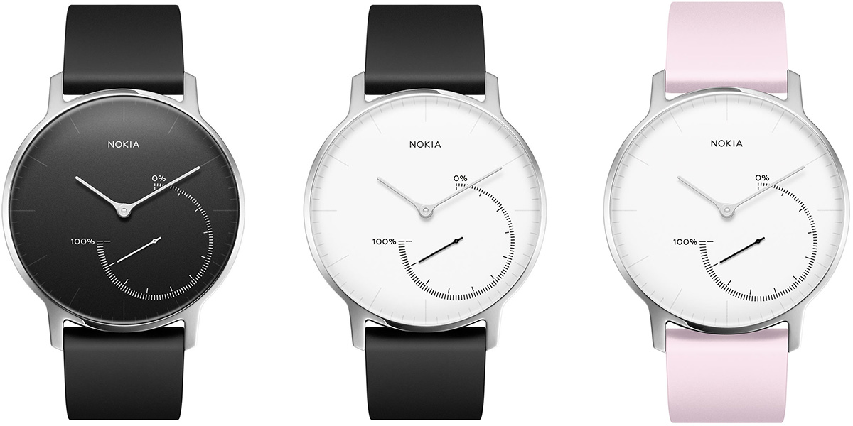 Nokia Steel smartwatch collection