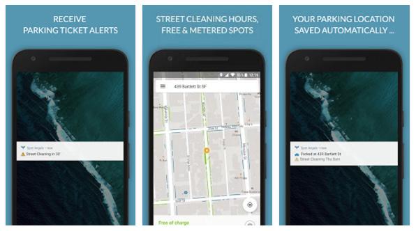 SpotAngels Android app