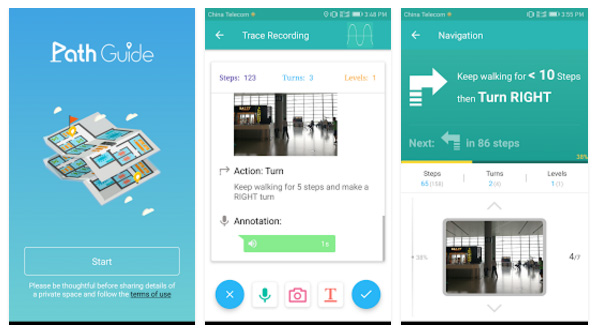 Path Guide Android App