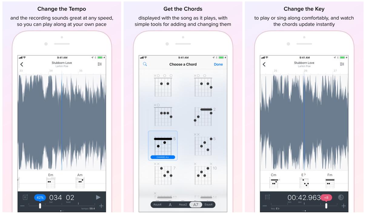 Capo touch mobile app