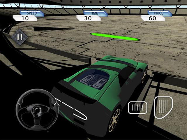 Crazy Stunt Car Destruction Derby iPad game screenshot 1
