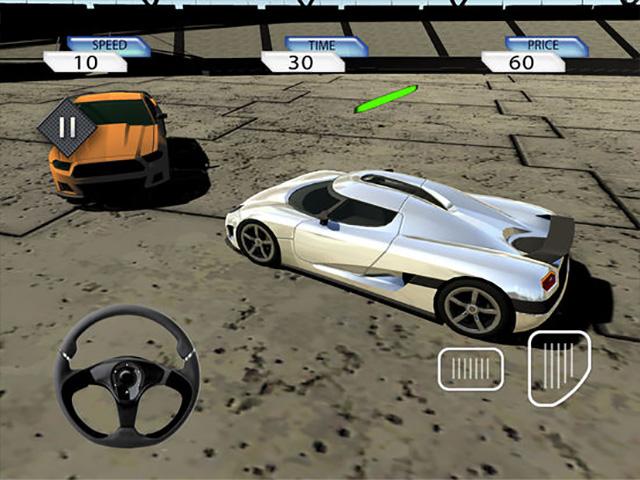 Crazy Stunt Car Destruction Derby iPad game screenshot 2