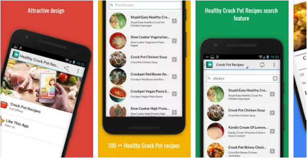 Healthy Crock Pot Recipes Android app