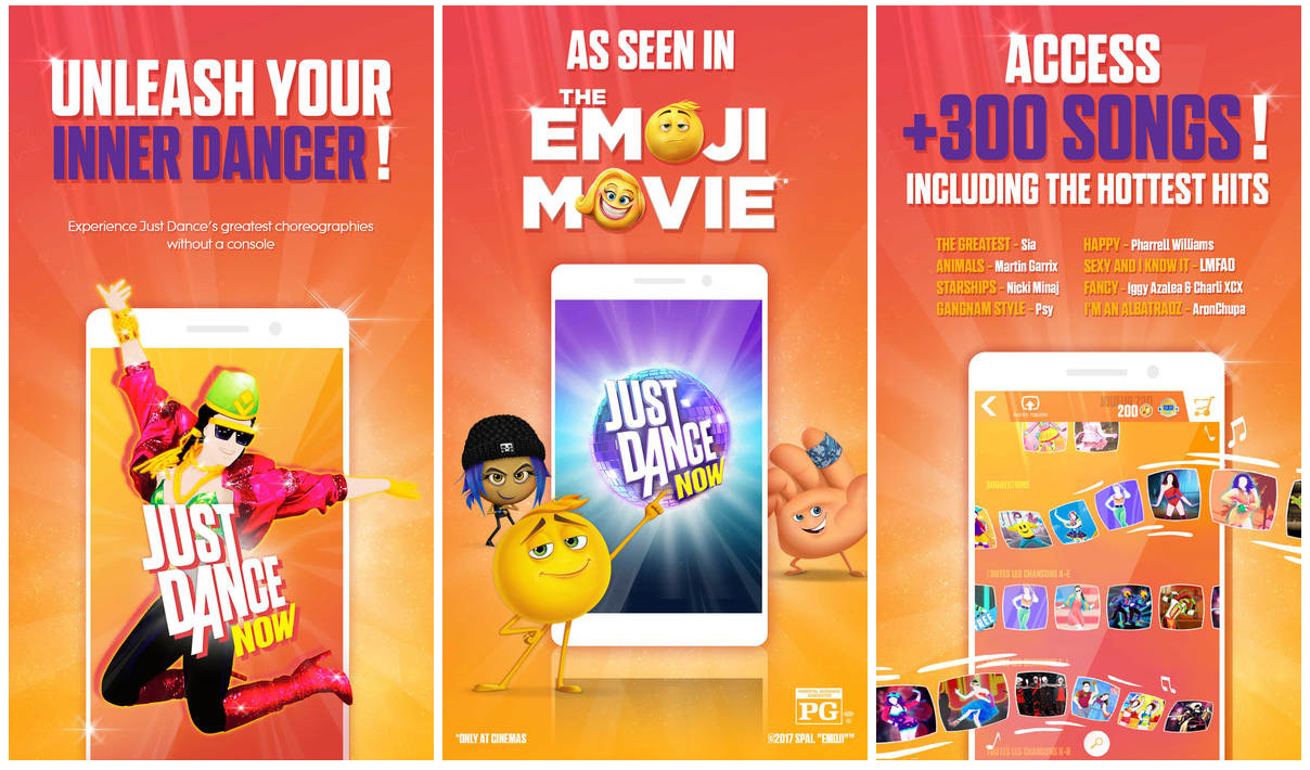 Just Dance Now iOS app