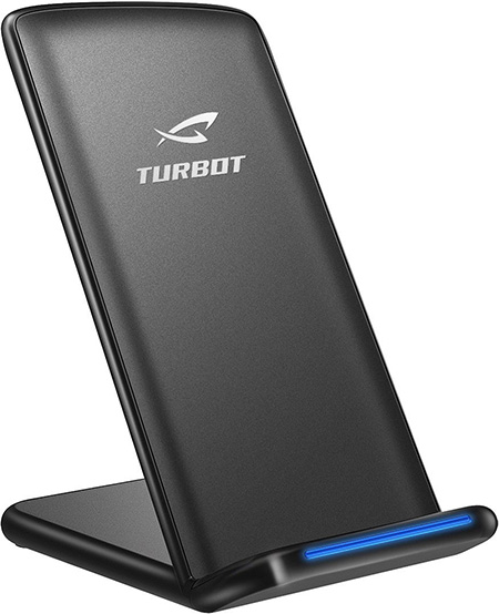 TURBOT QI Wireless Charging Stand for Galaxy S8