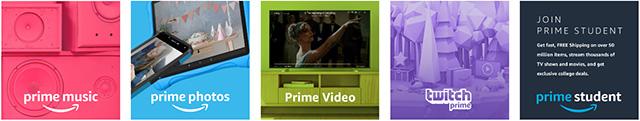 Amazon Prime Student deals