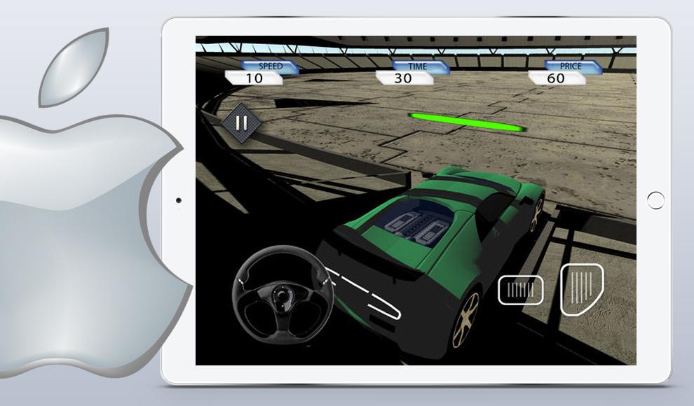 new iOS game Crazy Stunt Car Destruction Derby