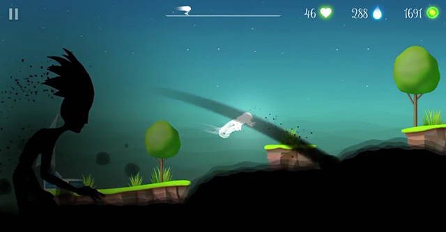 Flora and the Darkness iOS game screenshot