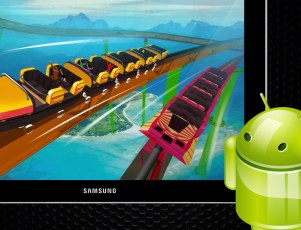 Roller Coaster Racing 3D 2 player game for Android