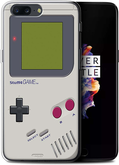 STUFF4 Nintendo Game Boy Cover for OnePlus 5