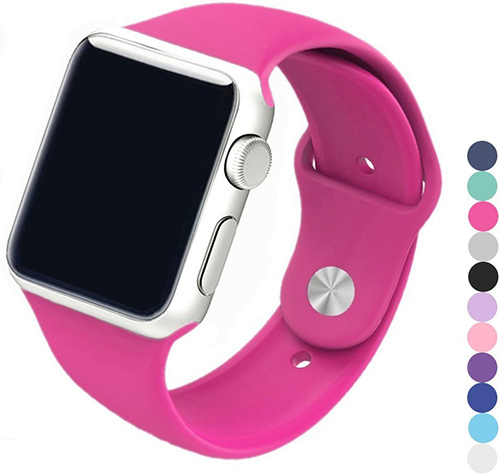 Silicone Apple Watch Band