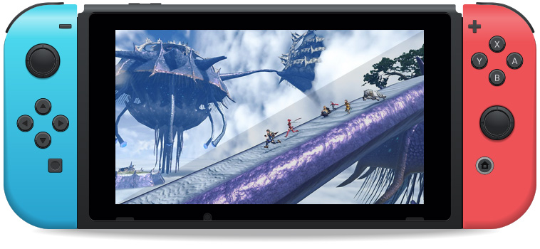 Xenoblade Chronicles 2 Nintendo Switch game screenshot