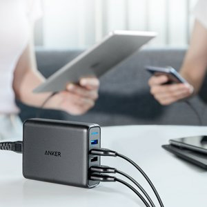 Anker Quick Charge 5 port USB multi-charger