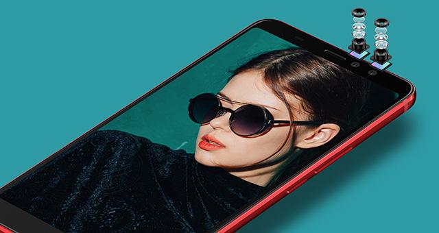 HTC U11 EYEs dual cameras