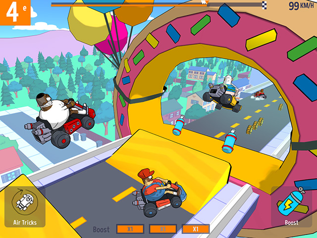 LOL Kart Android game screenshot
