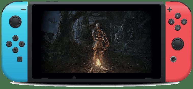 Dark Souls Remastered Nintendo Switch game screenshot