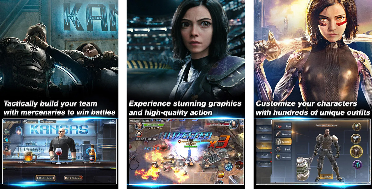 Android App of the Week: Alita: Battle Angel by Hong Kong