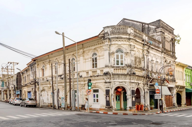 Phukets old town is made up of old style thai buildings that is converter into little shops and museums now.