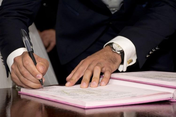 Ślub kościelny formalności