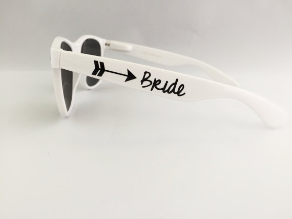 Okulary przeciwsłoneczne dla Pary Młodej