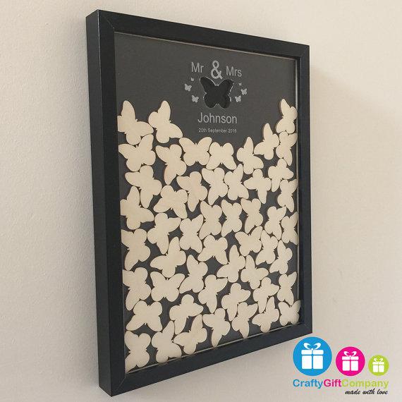 dekoracje motylowe love
