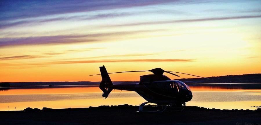 helikopterem do ślubu