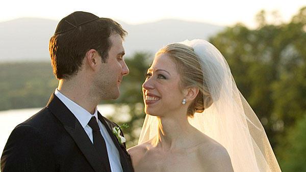 ślub Chelsea Clinton i Marca Mezvinsky