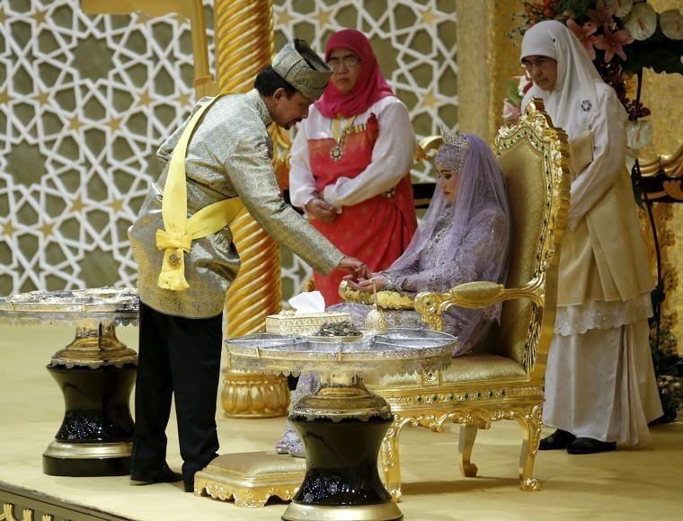 ślub księżniczki Hafizah Sururul Bolkiah