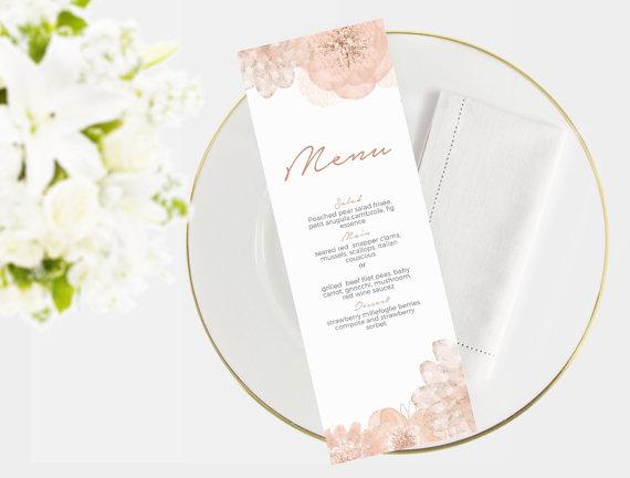 klasyczne karty menu