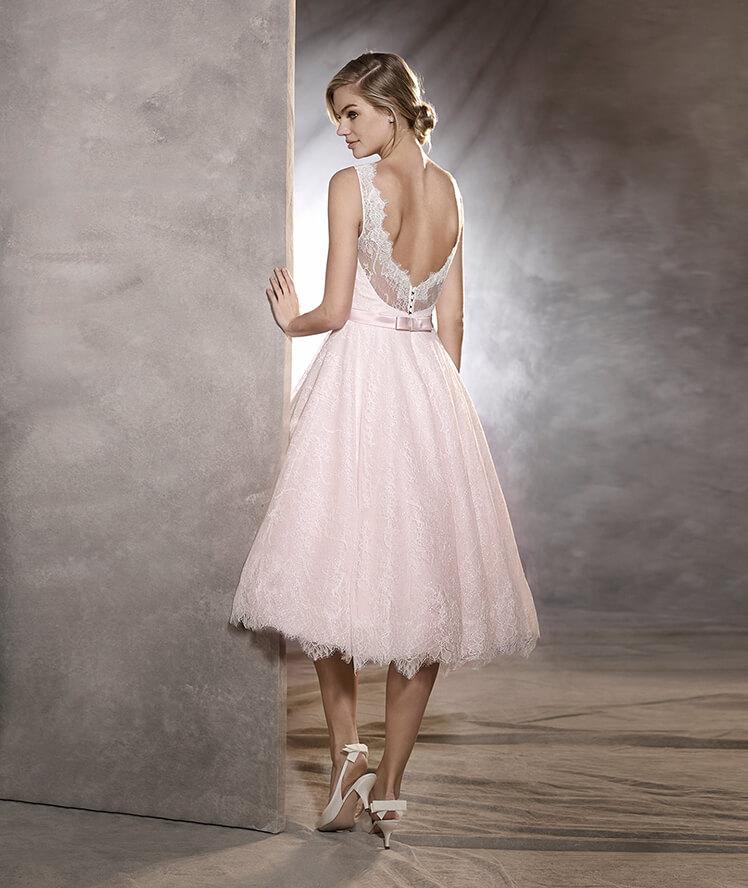 Suknia ślubna midi