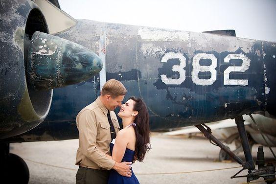 sesja poślubna w stylu pin-up