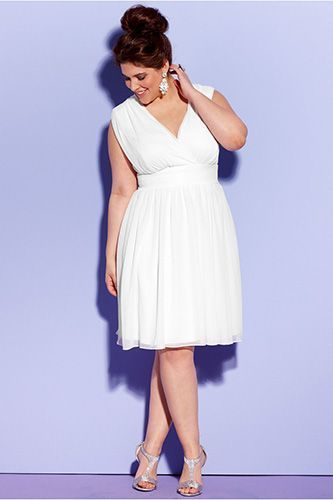 krotka suknia slubna plus size (10)