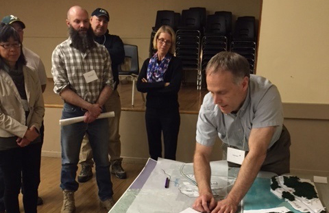 Adam Brady Participates in Professional Planning and Design Charette in Haliburton