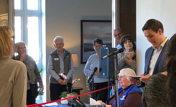 Hospice Opening
