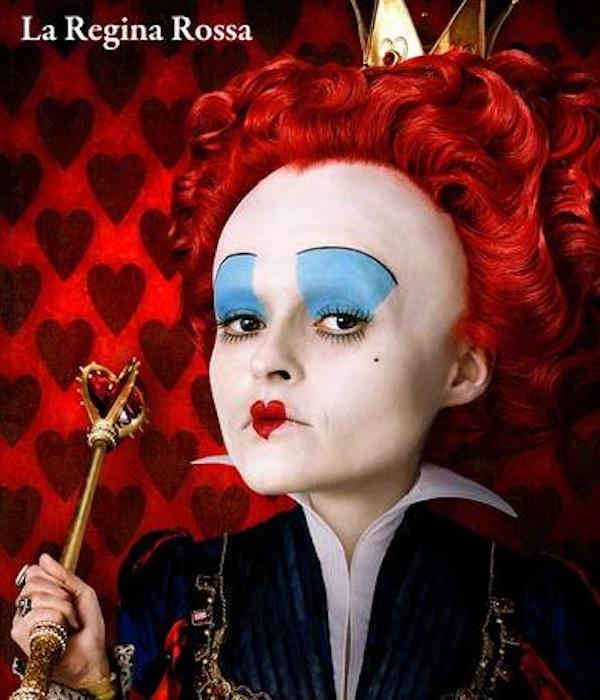 Make Up Halloween Regina Rossa Di Alice In Wonderland Letteraf