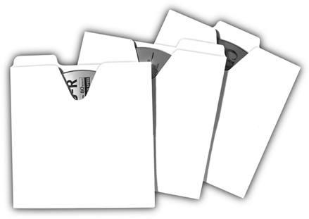 Vaultz Locking VZ01095 CD File Folders 50 Pack