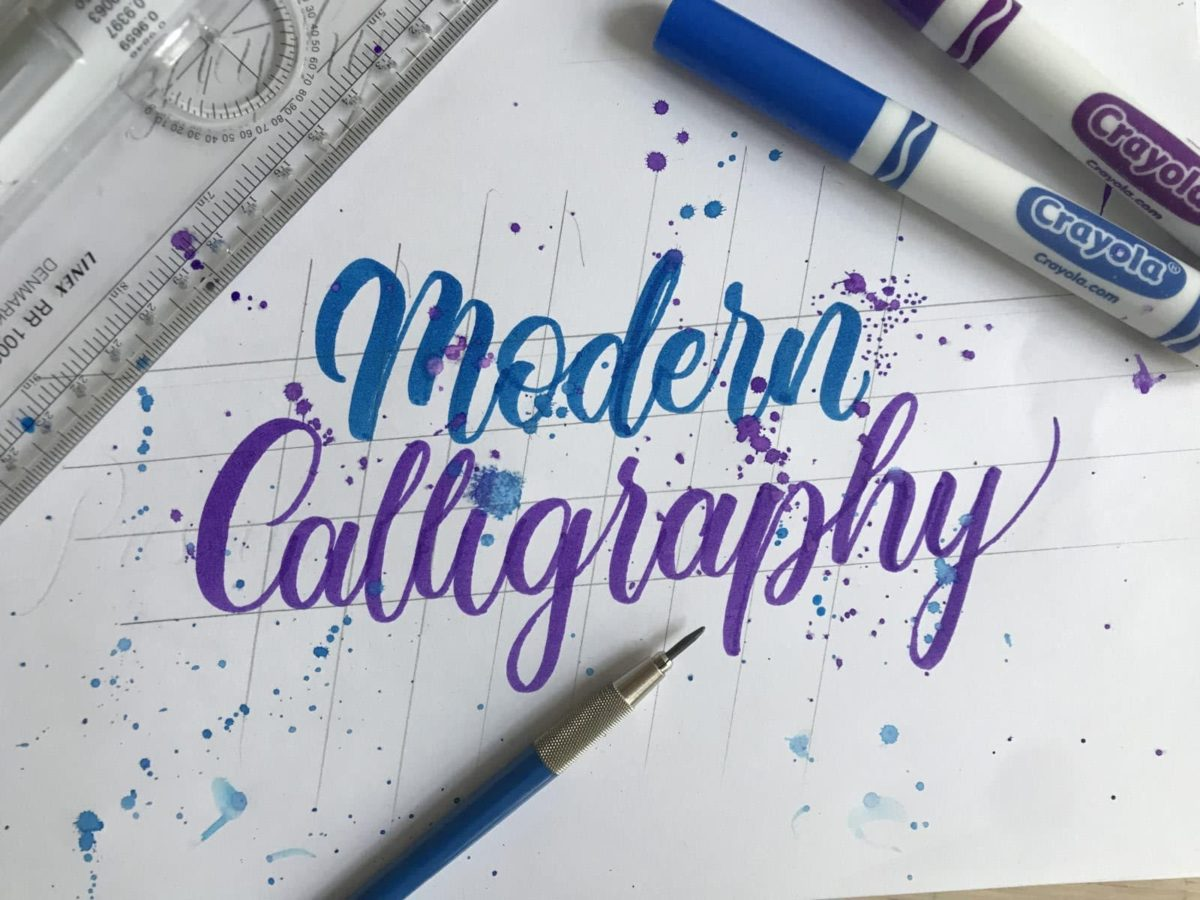 How To Do Modern Calligraphy 3 Popular Styles