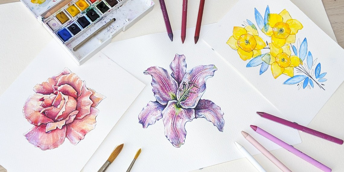 how to create watercolor