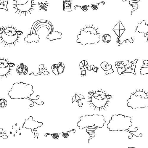 DB Weather Doodles DB