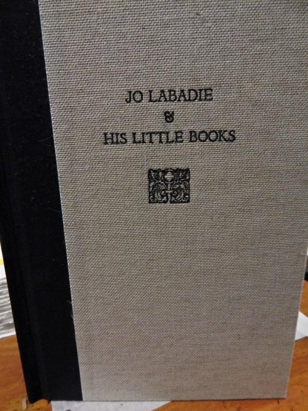 Joseph Labadie's little books