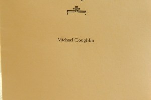 Letterpress printing pamphlet by Michael Coughlin